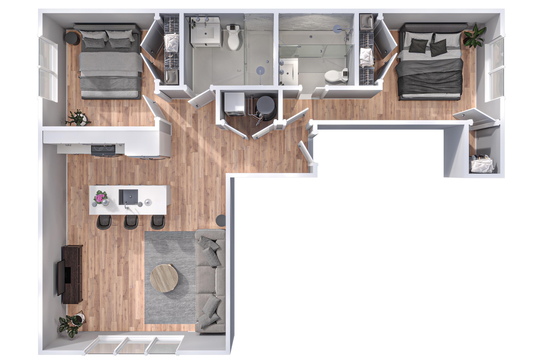 20086200-52 West Washington Court_3D Floor Plans_100 Washington_V2 Final