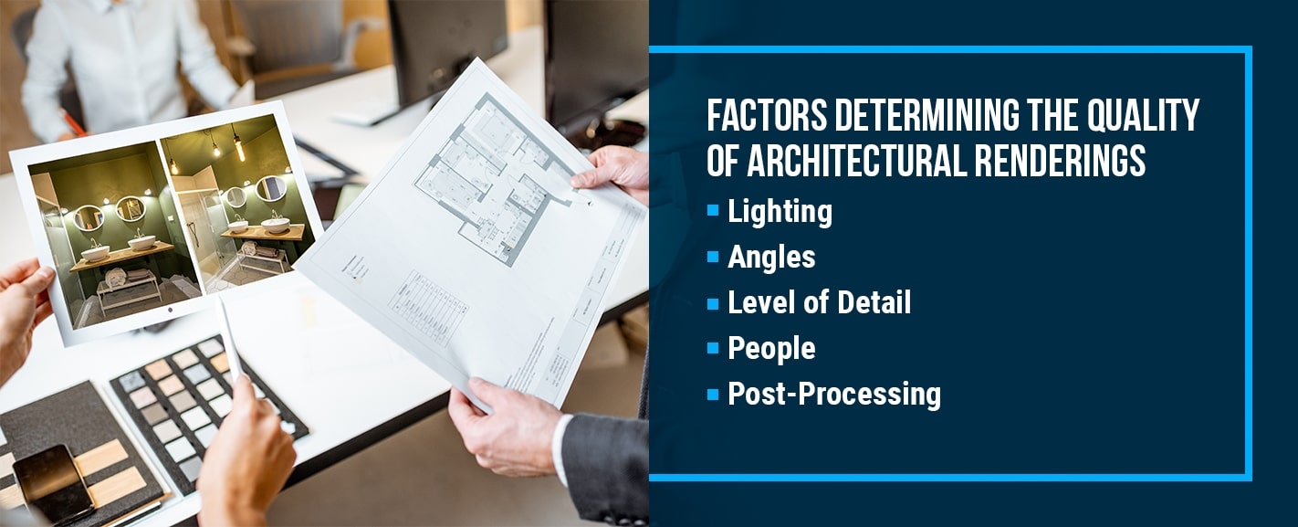 Factors Determining the Quality of Architectural Renderings