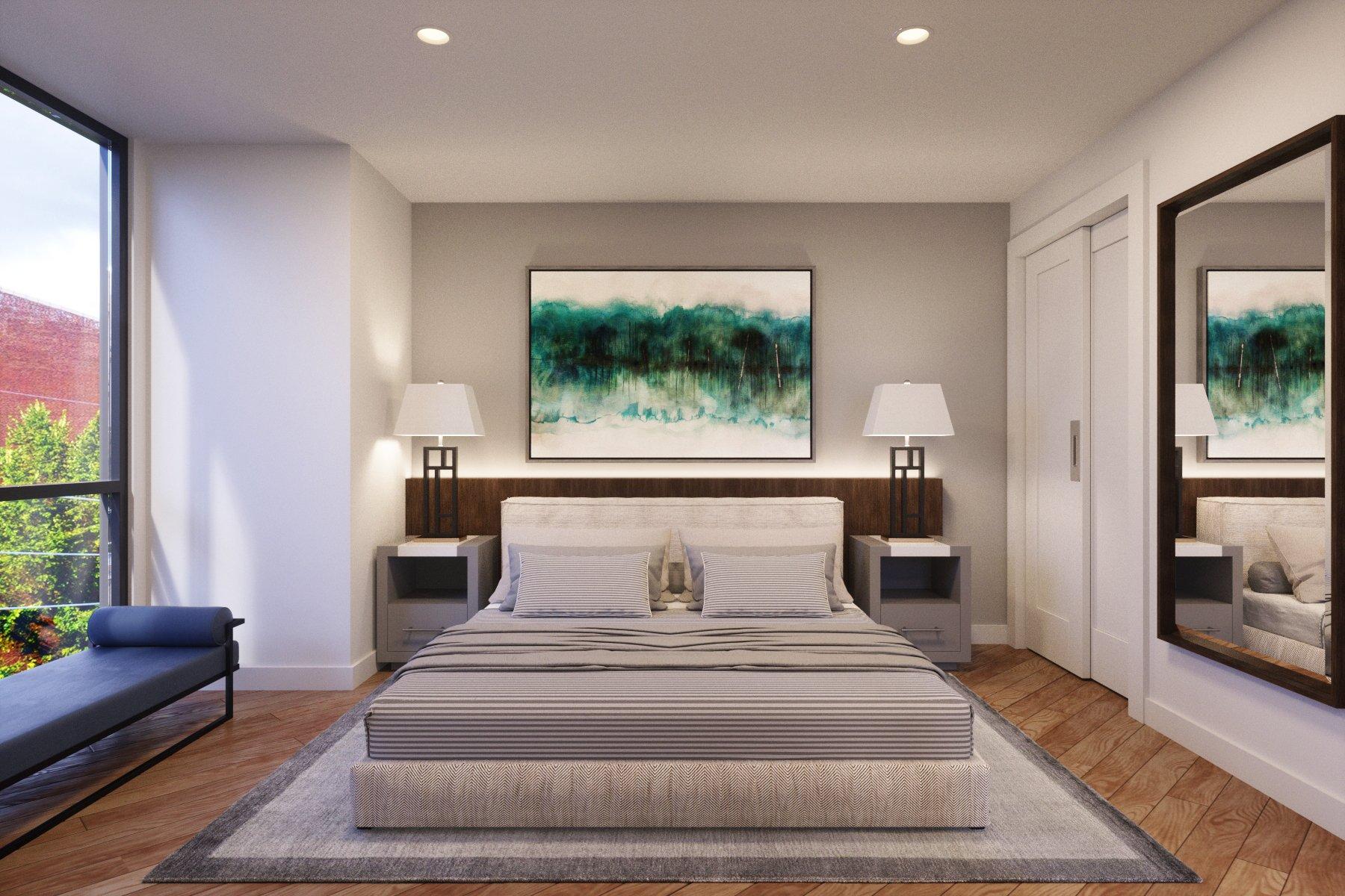Mercer Apartments_Bedroom Still Rendering