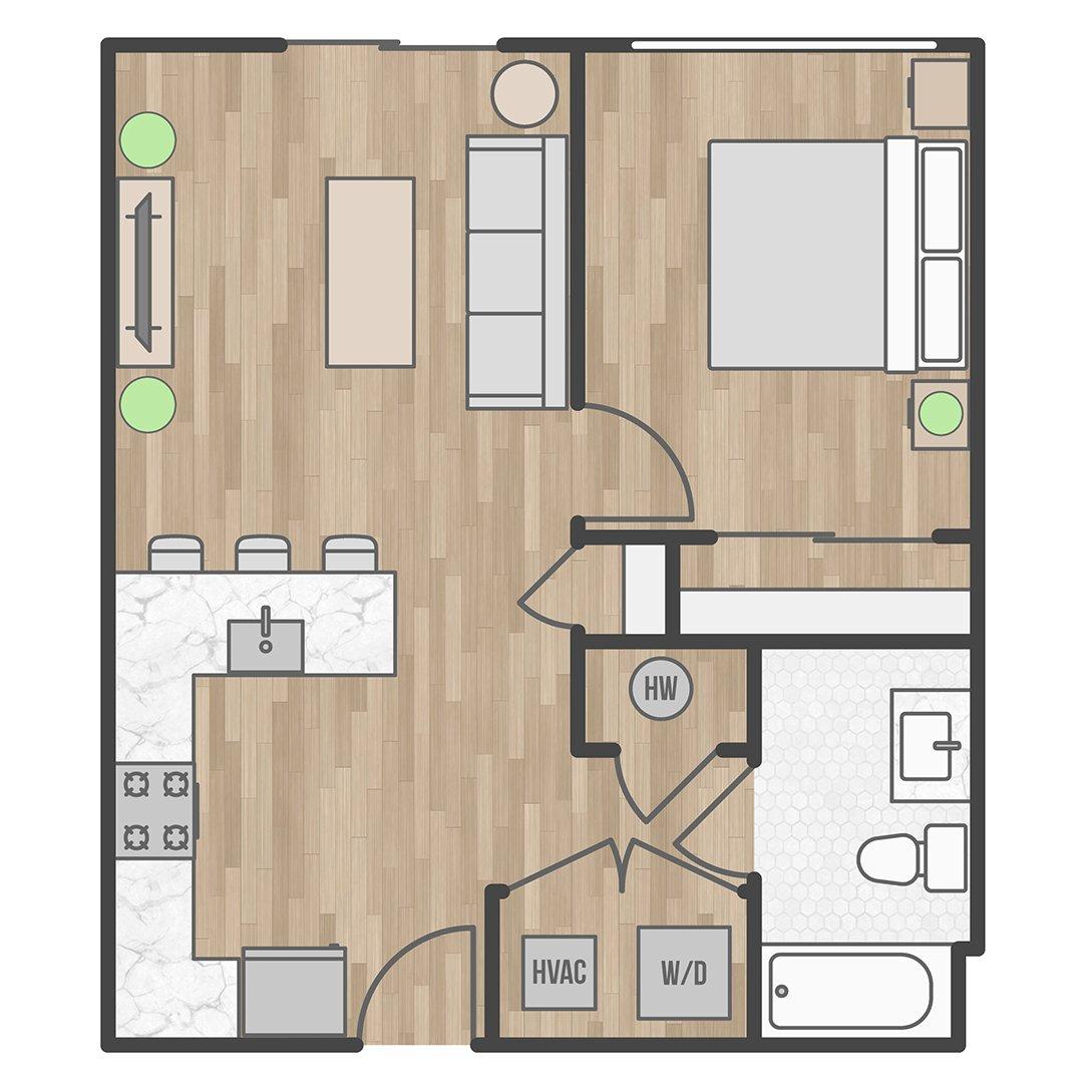 21029200-5535 Pulaski Avenue_2DFloorPlan_Unit102 b