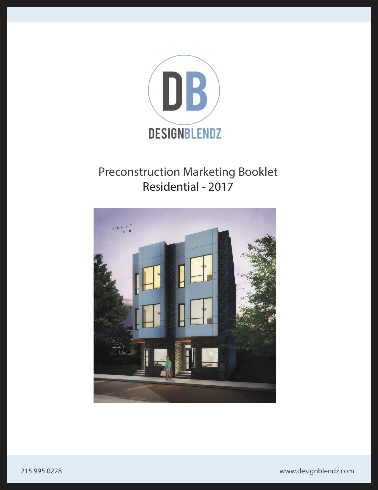 Cover of residential pre-construction market packet