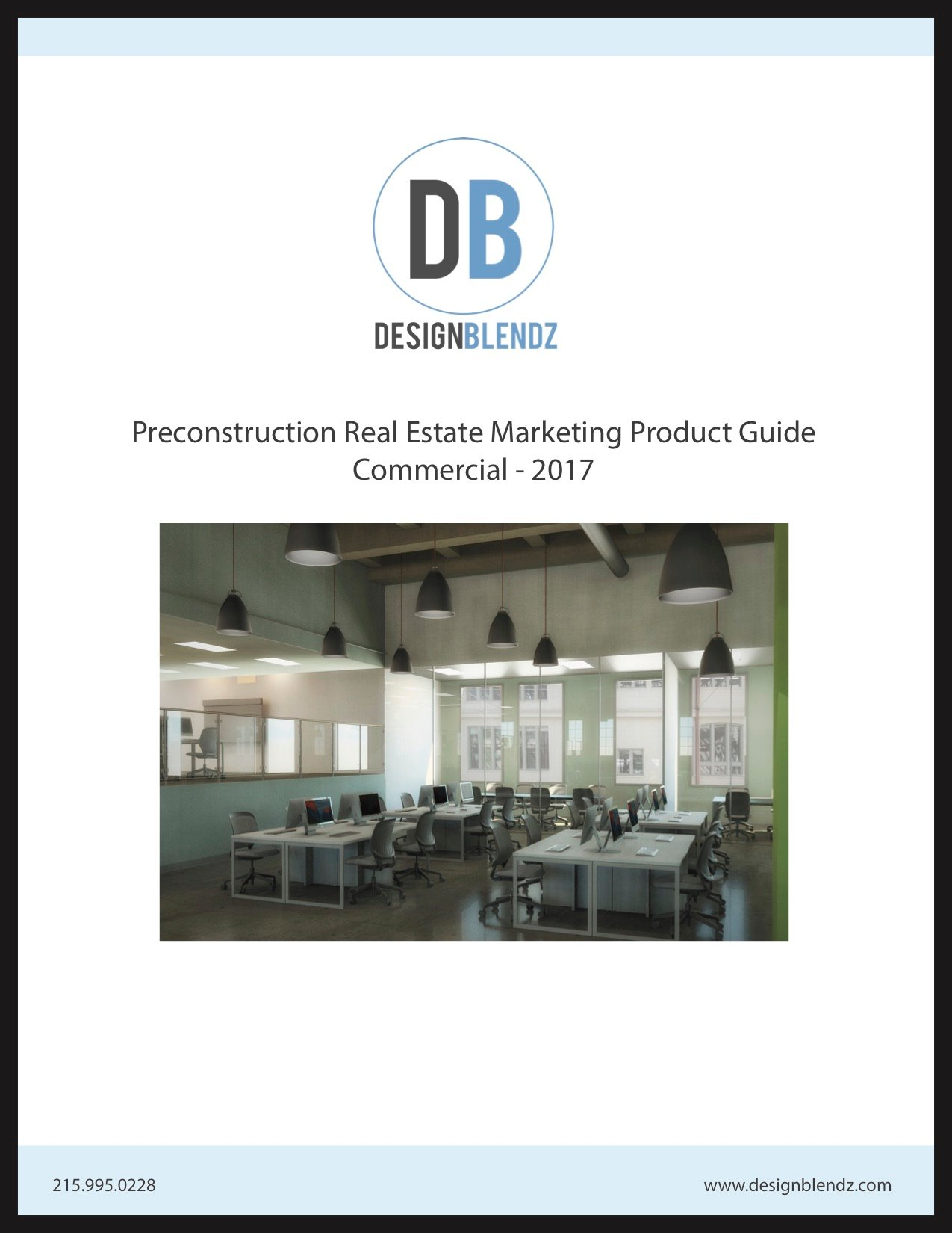 Cover of commercial pre-construction market packet