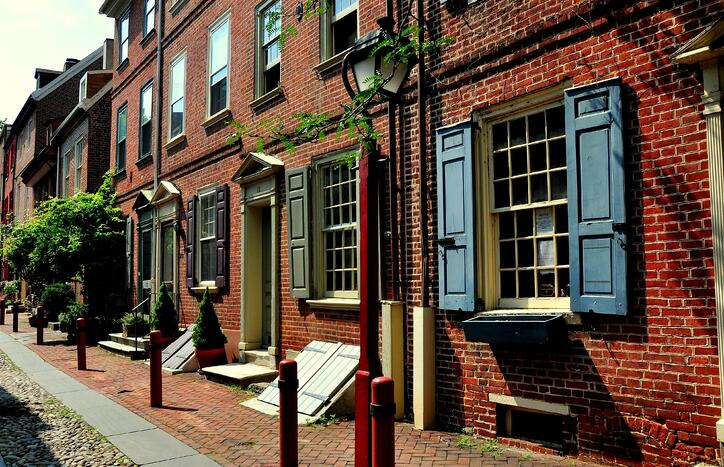 Historical row homes