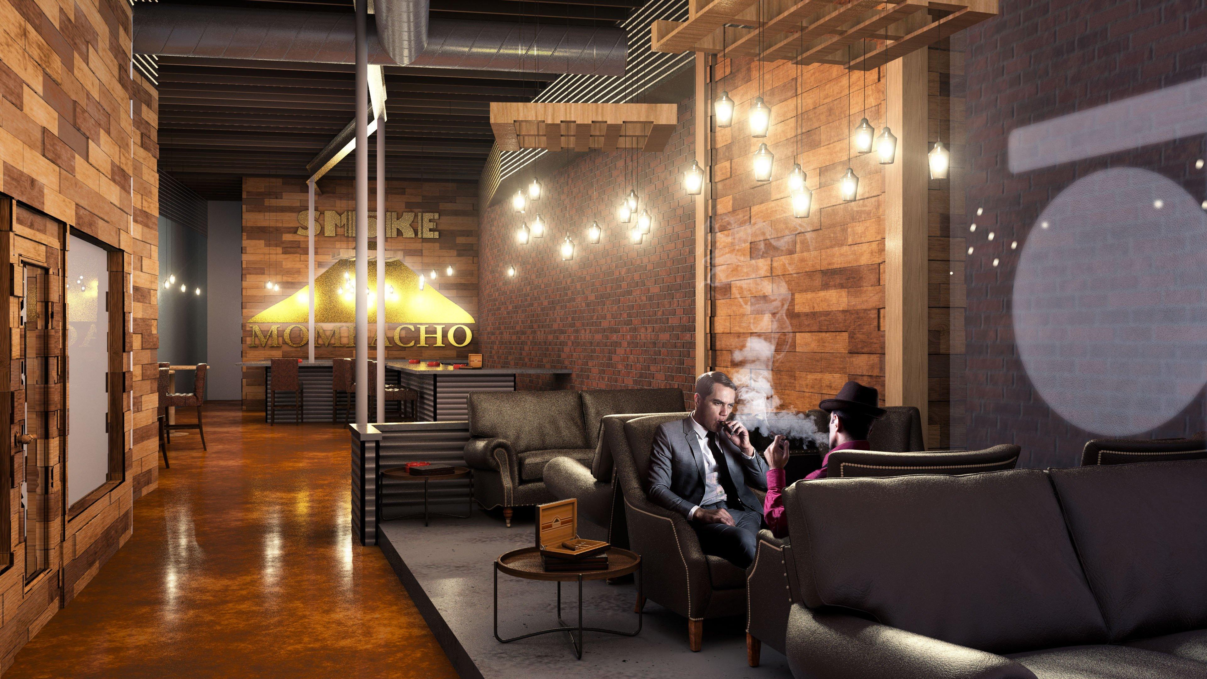 Cigar Lounge Concept