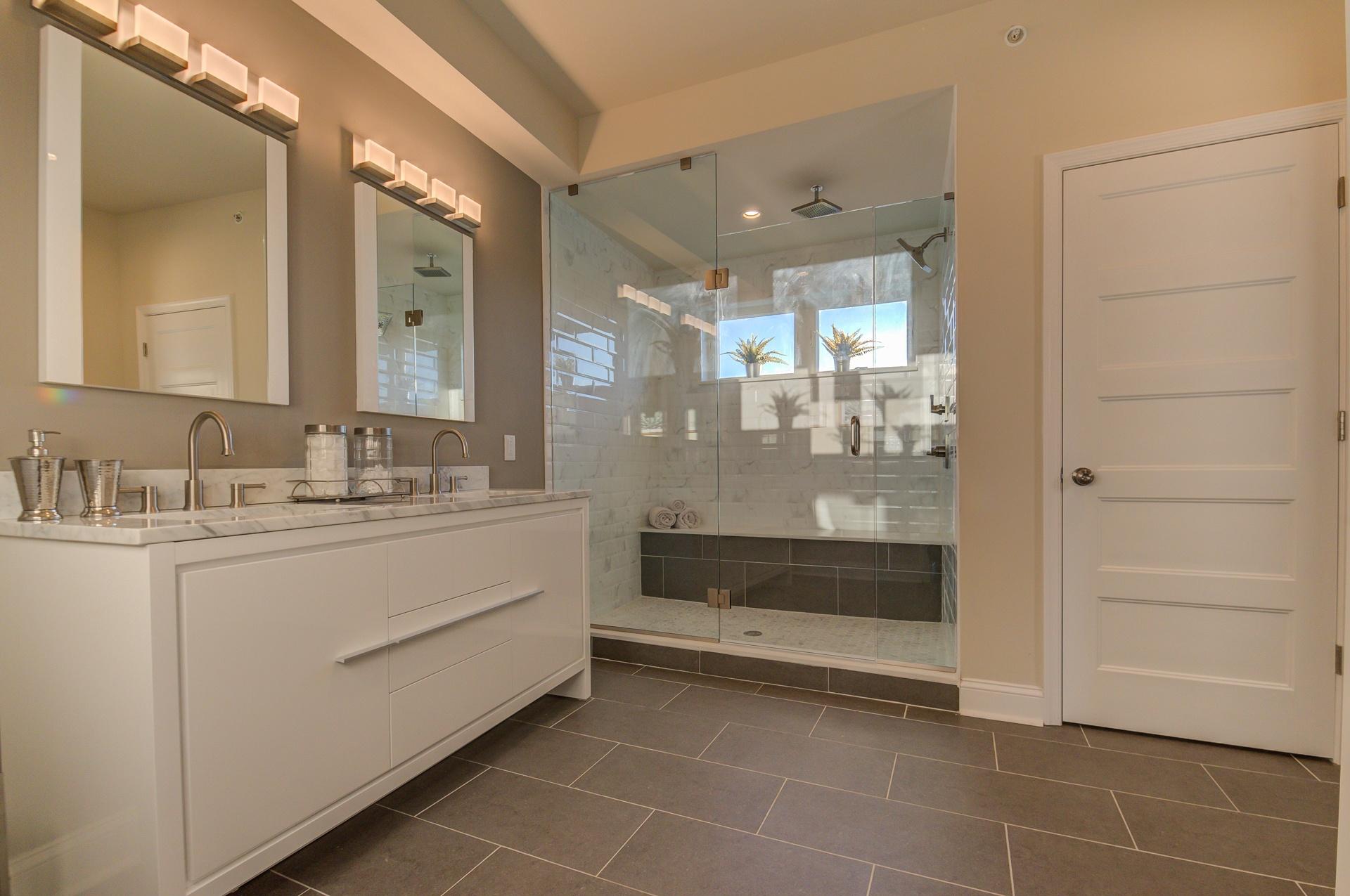 Master Bath-new construction Fishtown Philadelphia