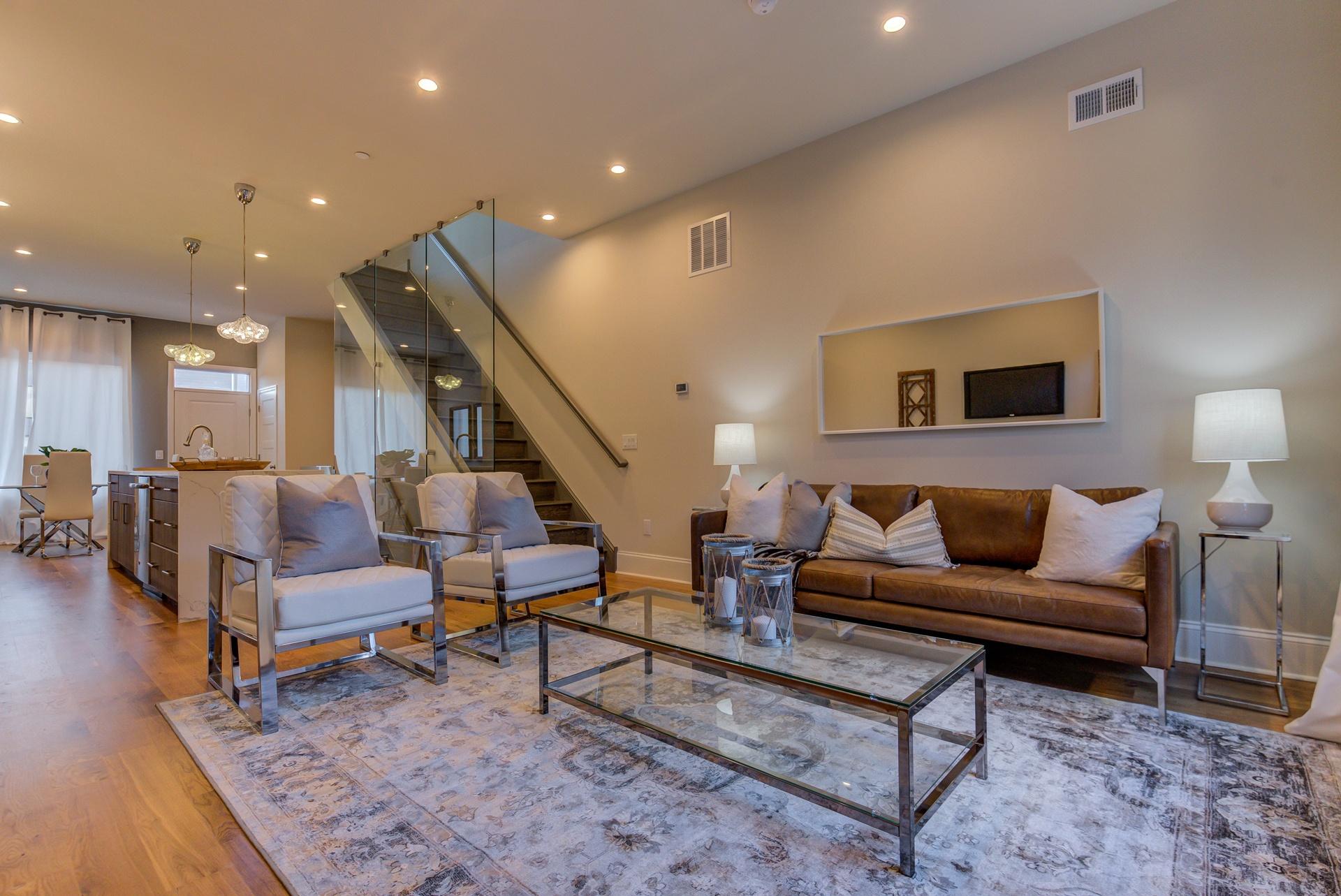 living room-new construction Fishtown Philadelphia
