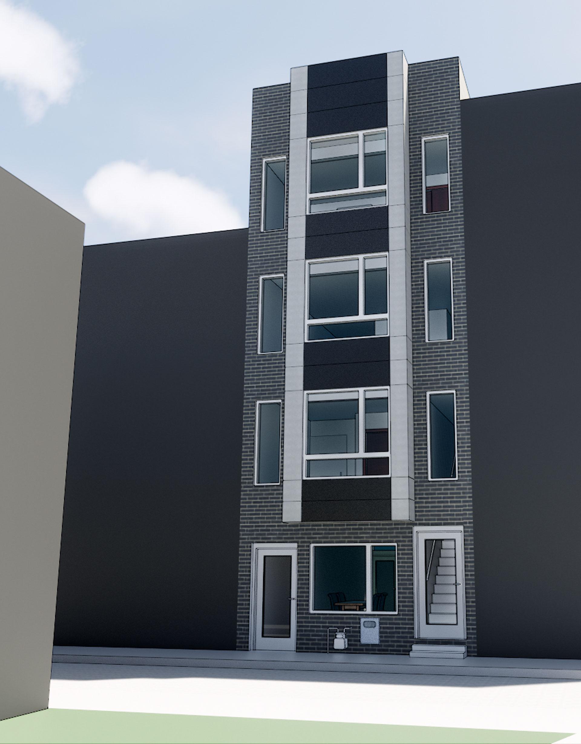 Duplex apartment building design philadelphia