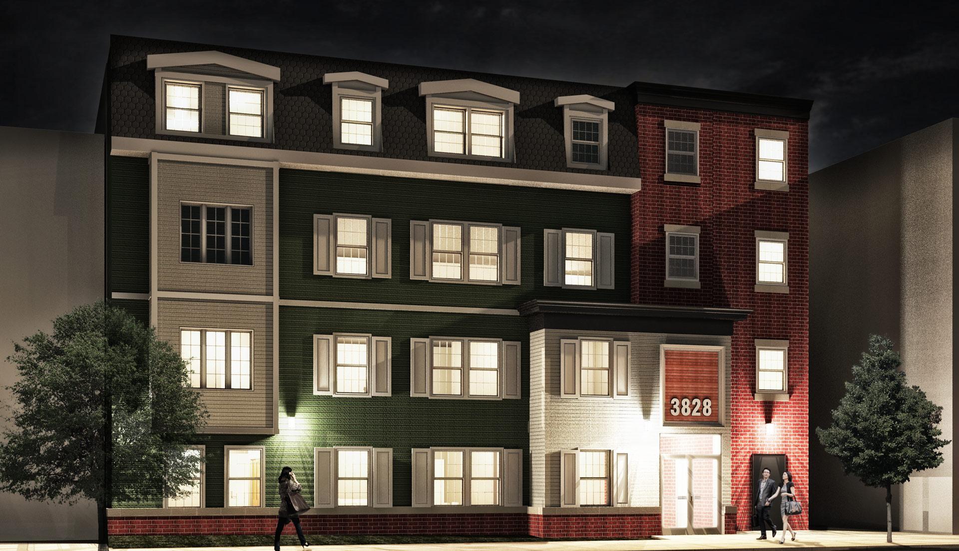 32 unit new construction apartment building
