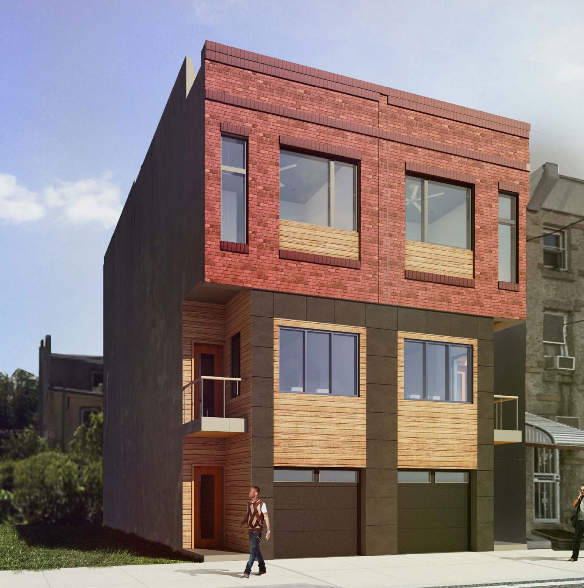 Residential architecture philadelphia new construction