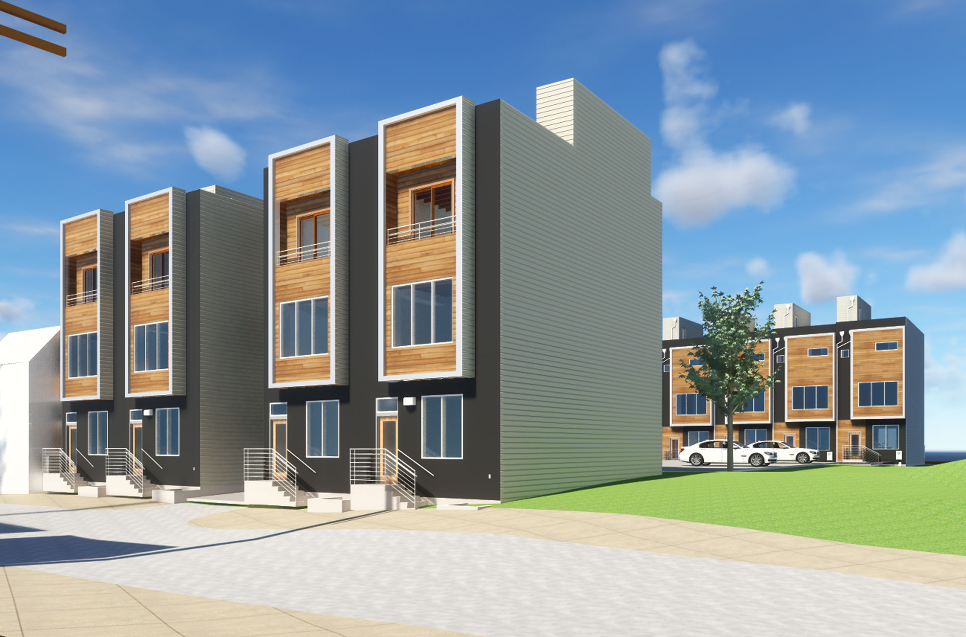 Architecture 12 single family home development