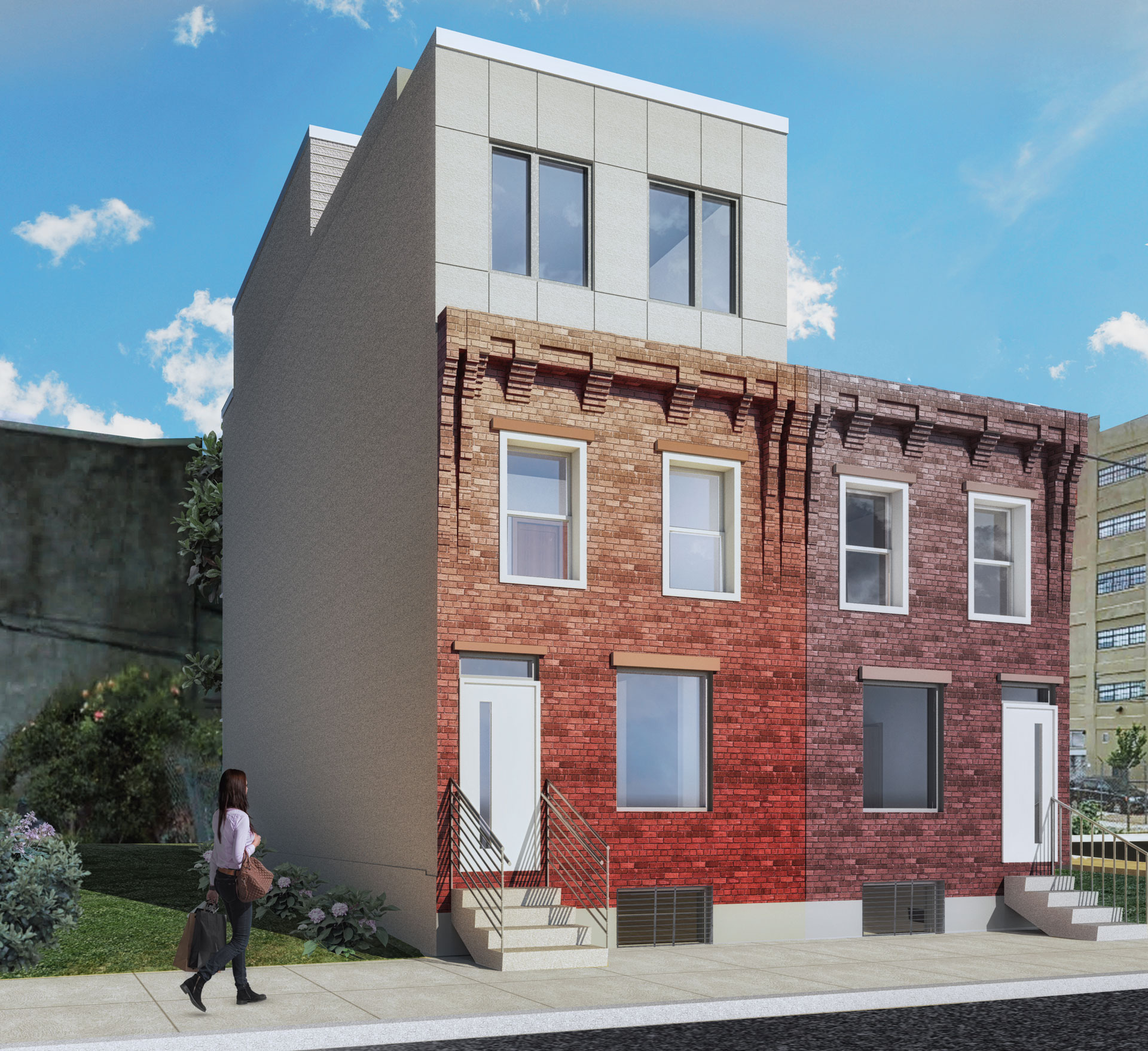 3rd story addition Philadelphia design architecture