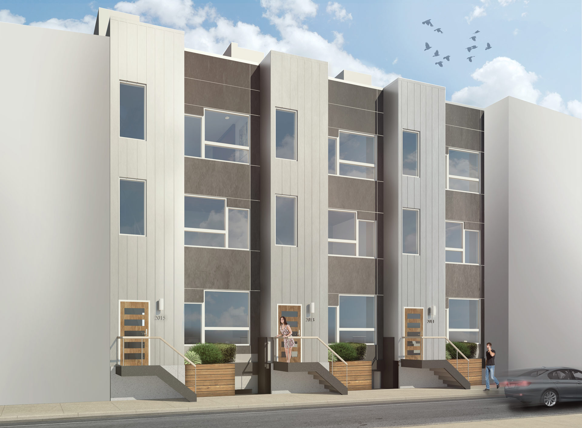 Residential architecture Philadelphia single family home