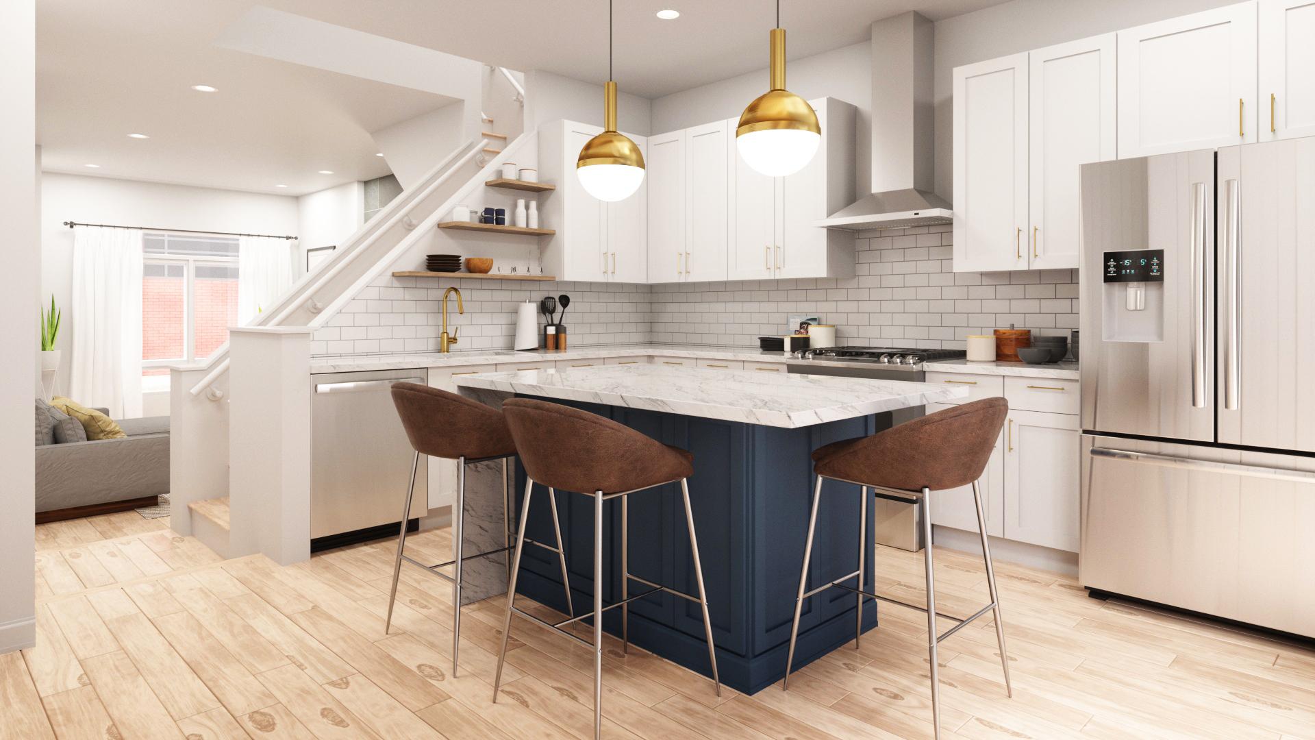 19014201-H2 Townhomes_Interior_Web_Kitchen 02