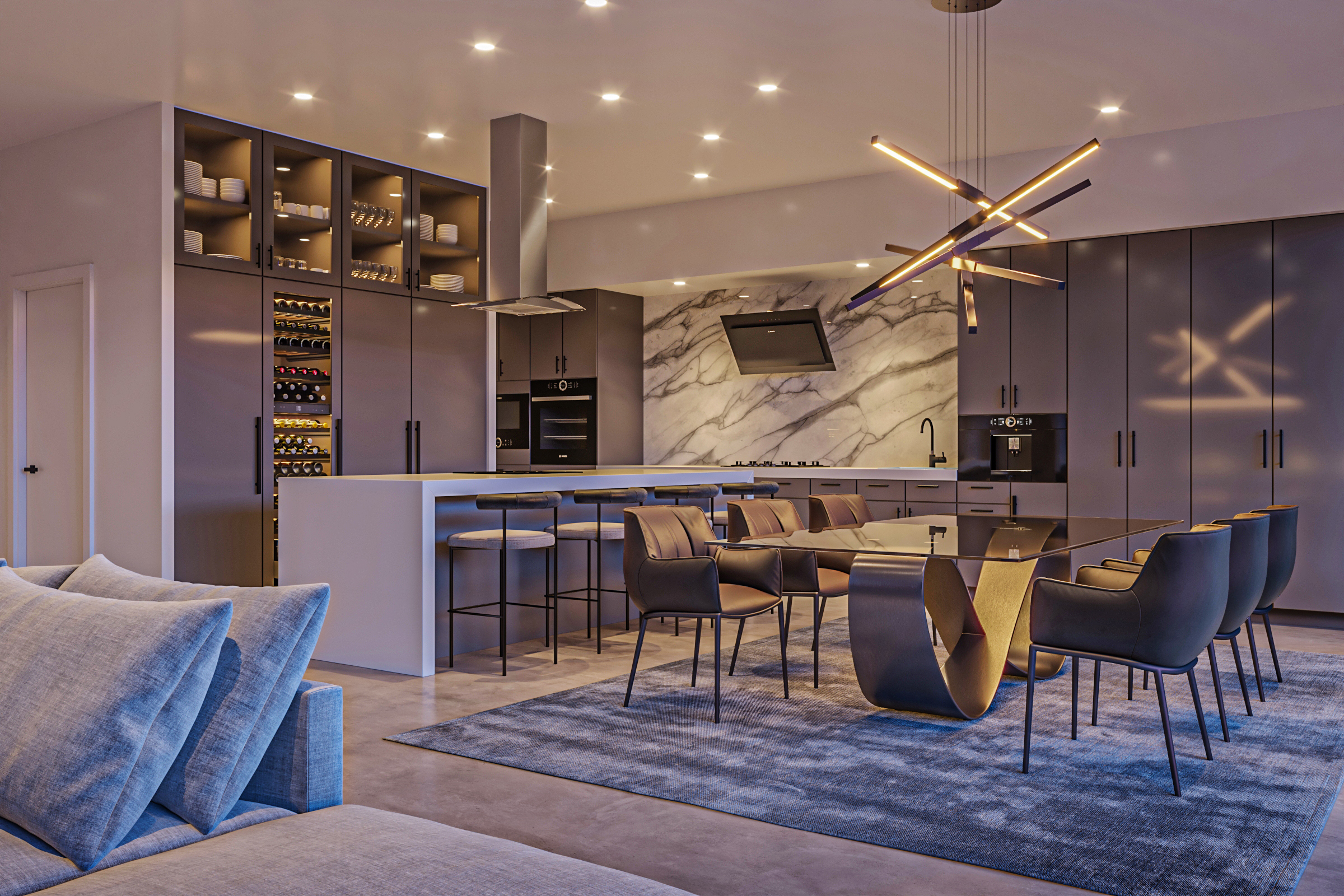 Eagle avenue interior rendering
