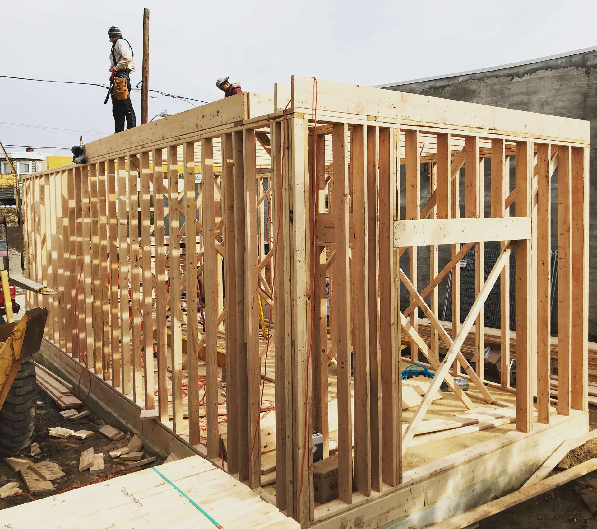 New Construction Framing