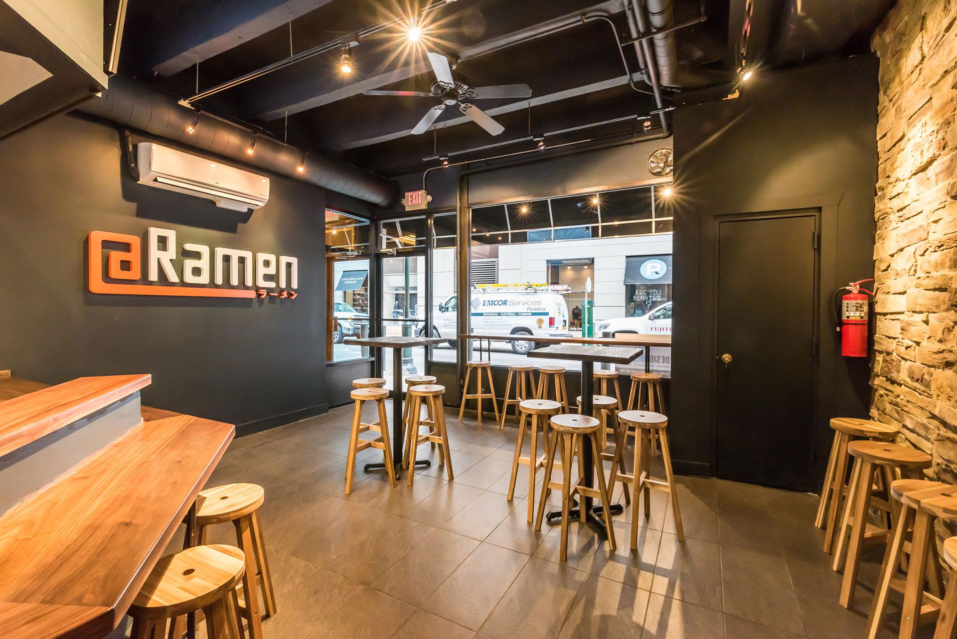 Tenant Fit Out of a Ramen Noodle Bar