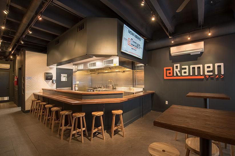 Ramen Noodle Bar Tenant Fit Out