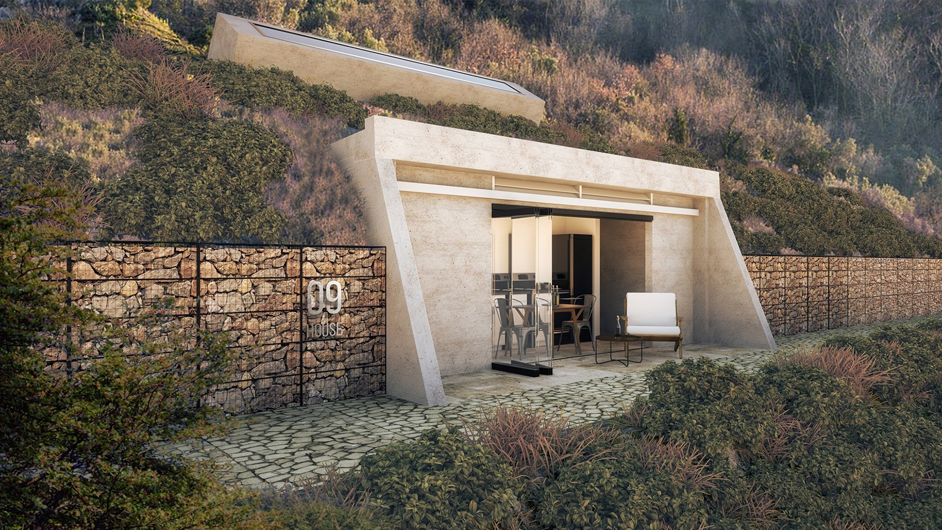 Observatory Houses Exterior Rendering