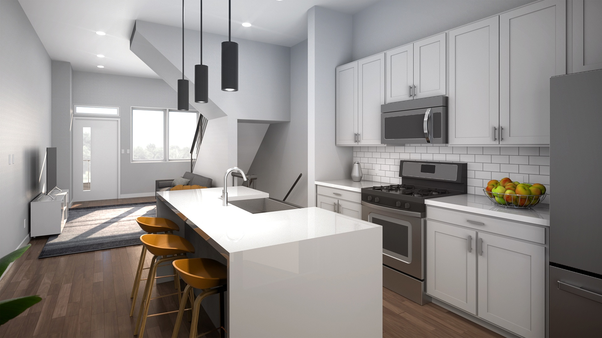 Cantrell Residence - Kitchen