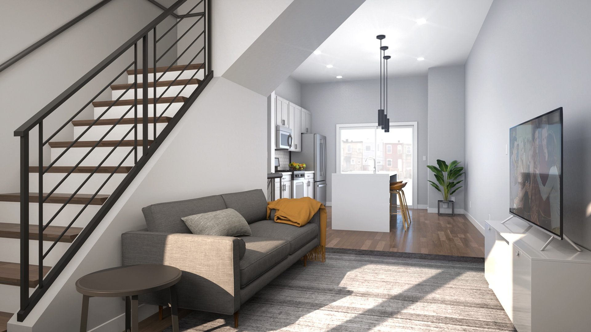 Cantrell Residence - Living Room