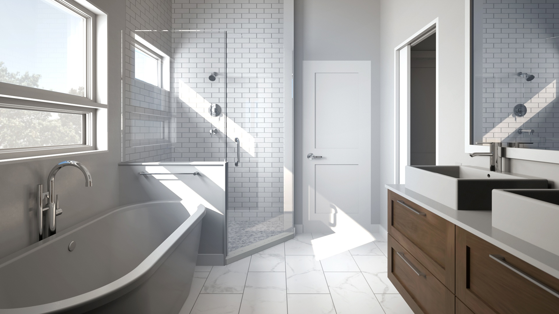 Cantrell Residence - Master Bathroom