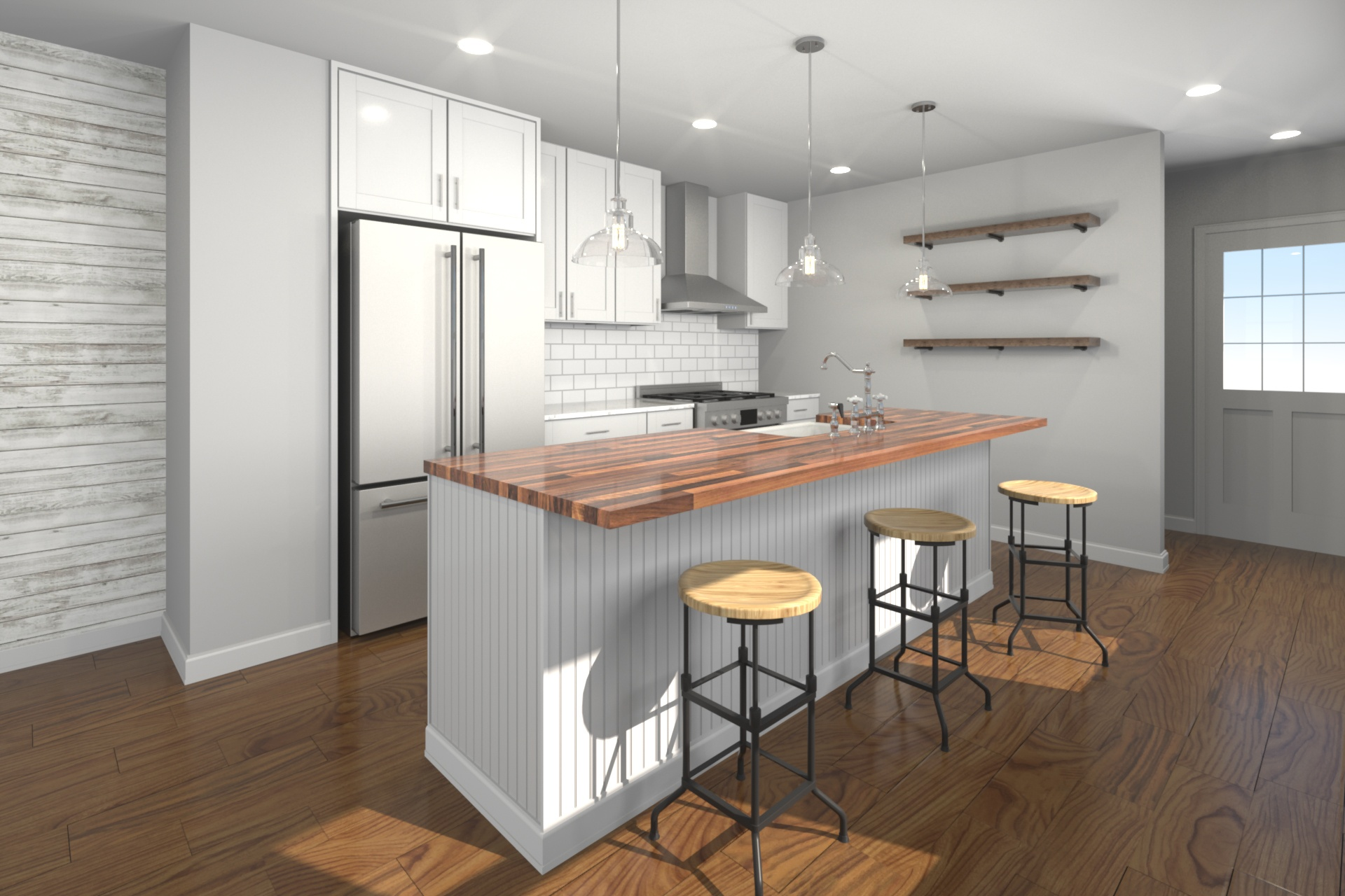Private Residence - Kitchen