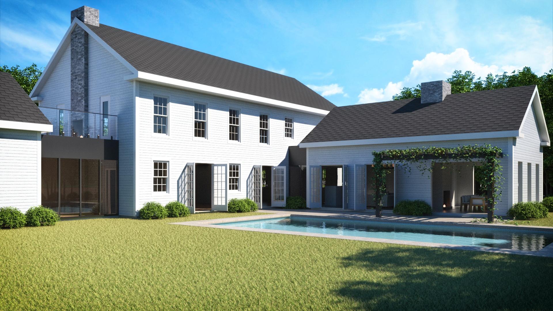 Pool - N. Sea Road - Hamptons
