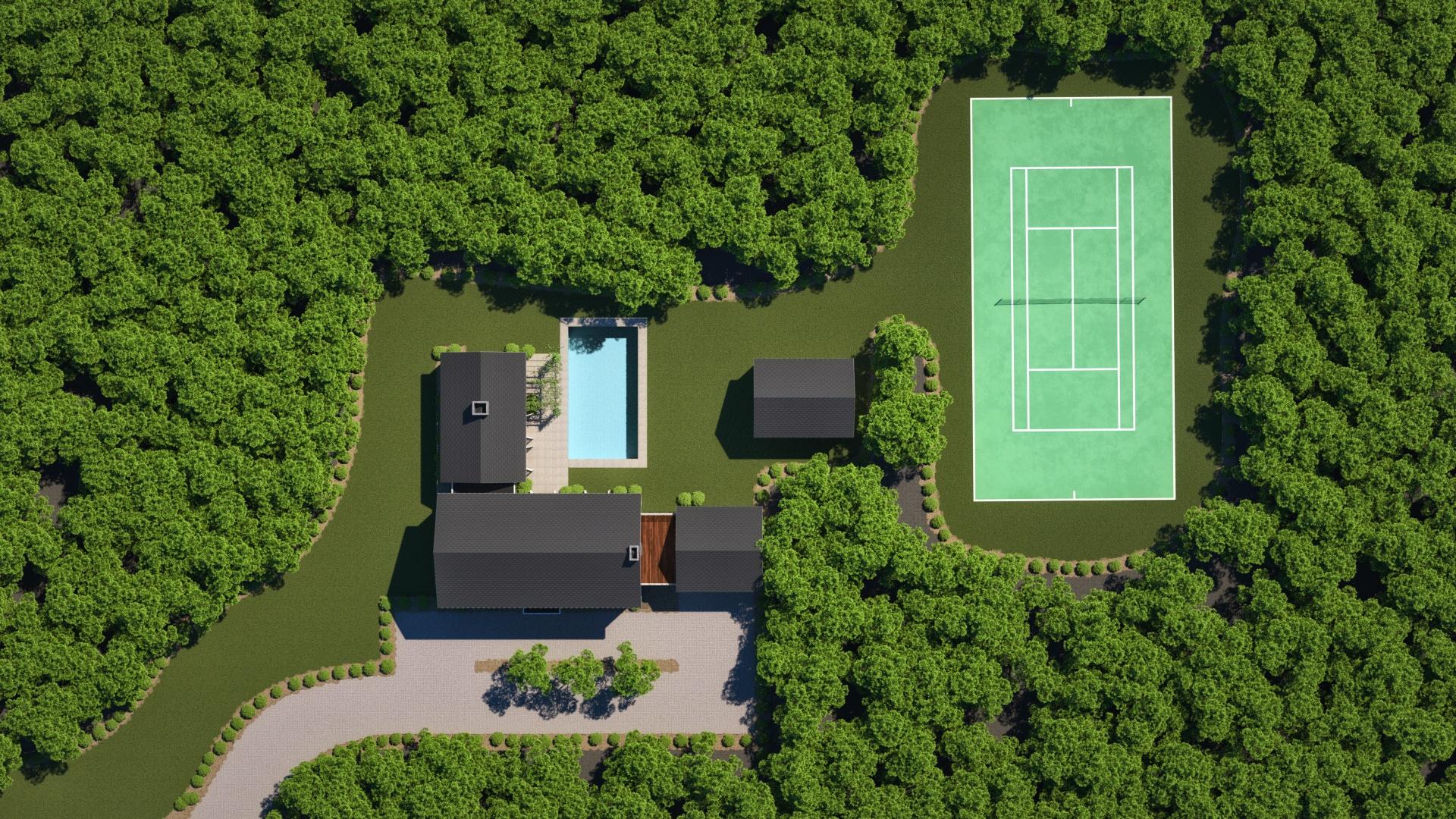 Site Plan - N. Sea Road - Hamptons
