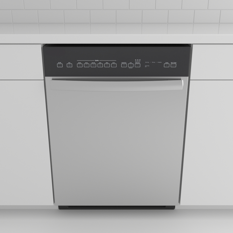 Dishwasher_Front Control Bar_Stainless