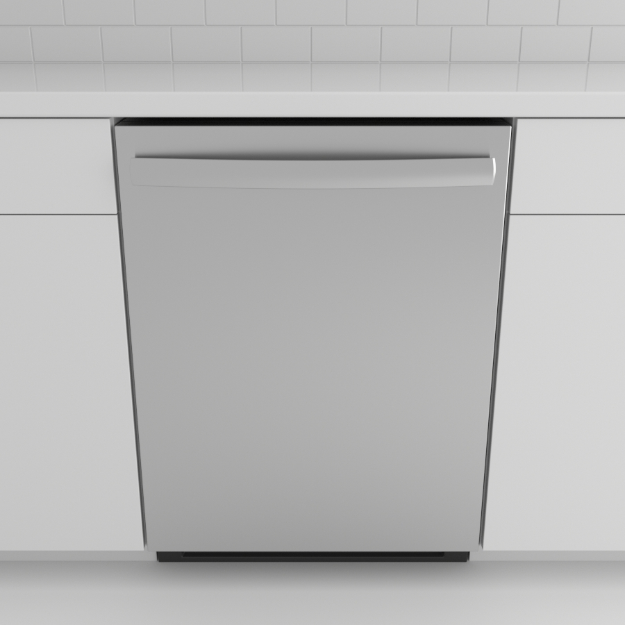 Dishwasher_Top Control Bar_Stainless