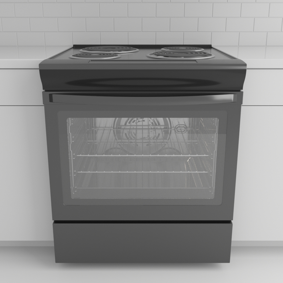 Range_Electric_Black Stainless