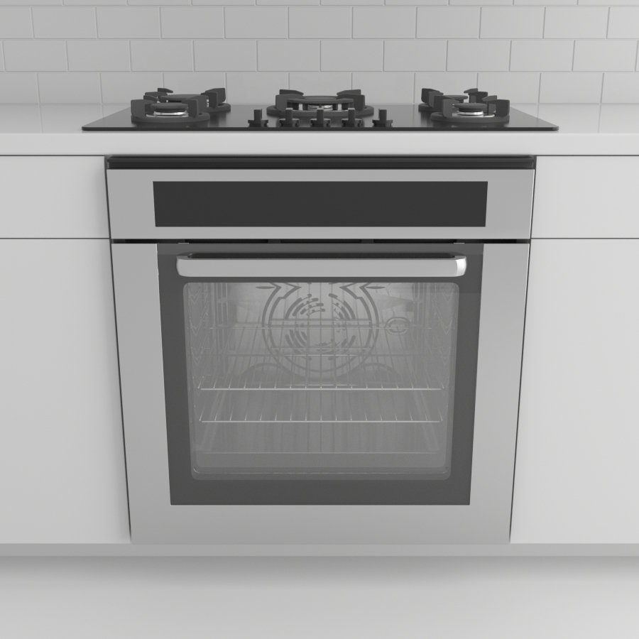 Range_Wall Oven_Stainless