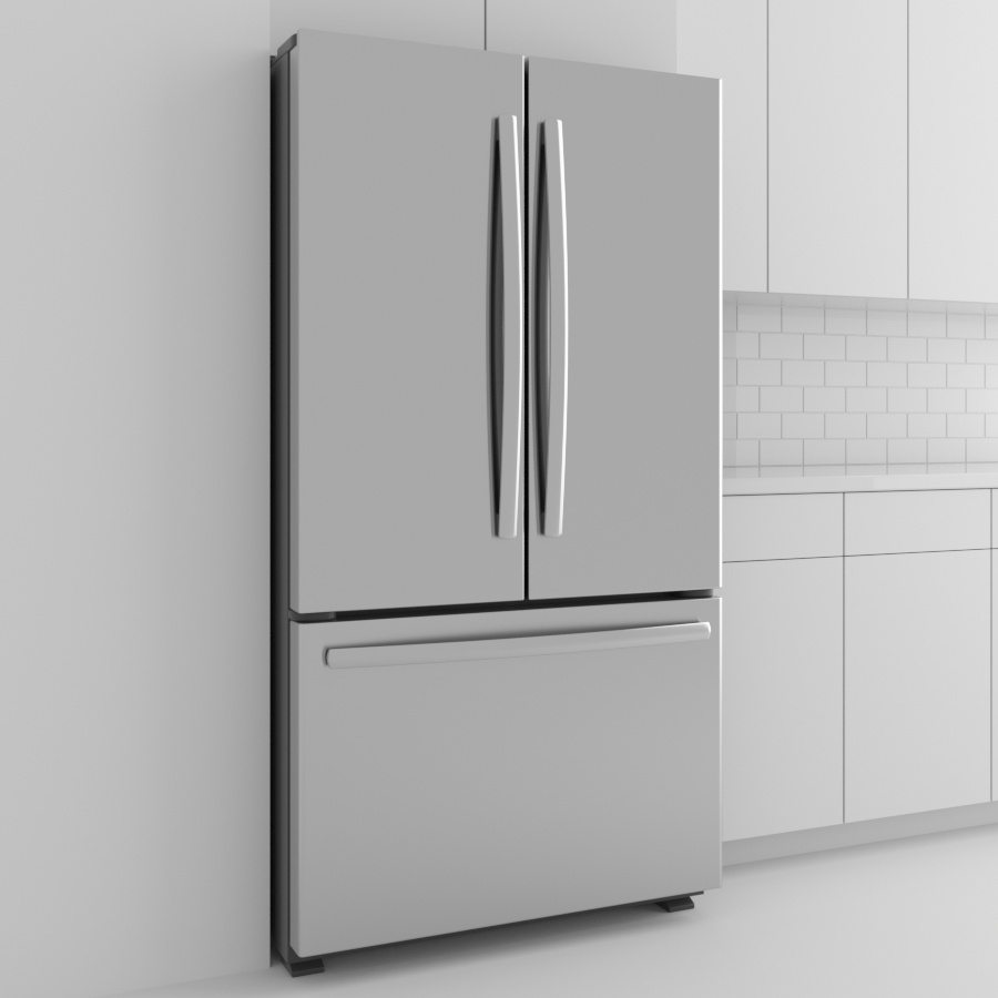 Refrigerator_French Door_Stainless