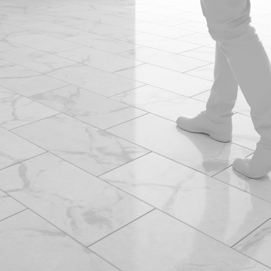 Tile Floors_24x12_White