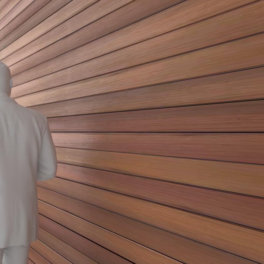 Wood Siding_Standard_Red