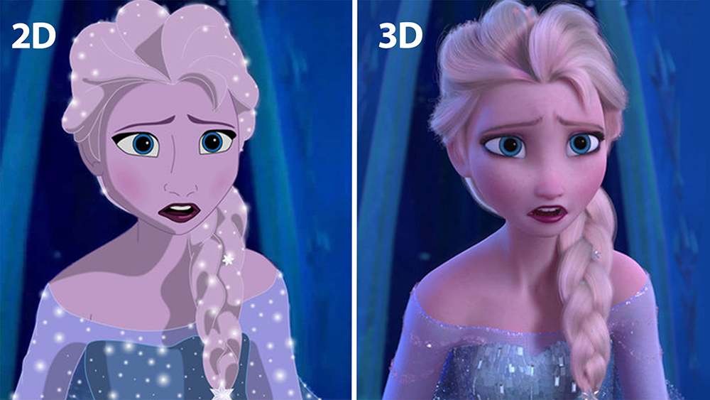 The Difference Between 3D and 2D Animation