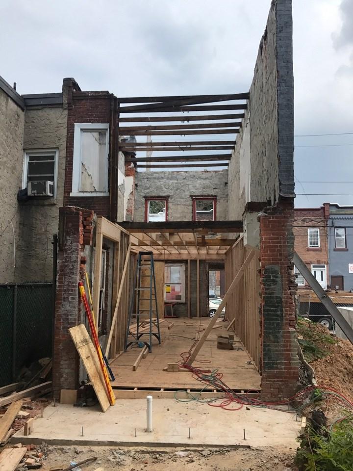 A full gut renovation in Philadelphia
